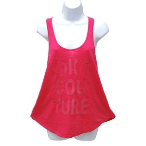 NWT Juicy Couture Womens Raceback Tank Top